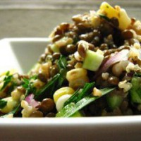 BEANS:  Lentils with Vegetables
