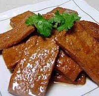 TOFU, TEMPEH & OTHER PROTEIN:  Savory Seasoned Dried Tofu