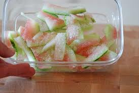 CONDIMENTS:  Watermelon Rind Condiment